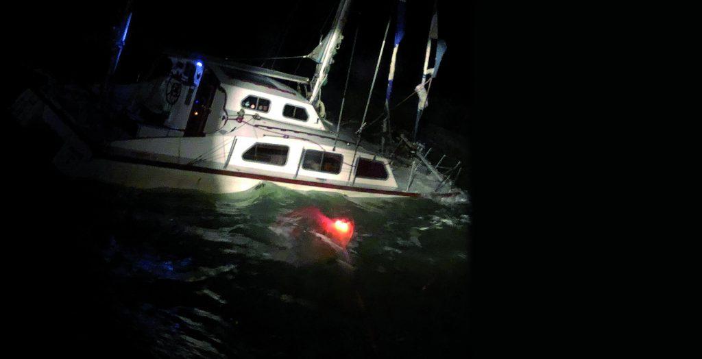 collisione affondamento
